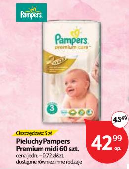 Pieluszki Pampers Premium Care za 42,99zł @ Tesco