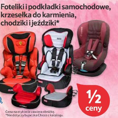 50% rabatu na wszystkie foteliki i podkładki samochodowe, krzesełka do karmienia, chodziki i jeździki @ Tesco