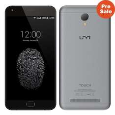 "UMI TOUCH 4G FDD-LTE MTK6753 Octa Core 5.5"" Screen 3GB+16GB 13MP Camera Full Metal Body"