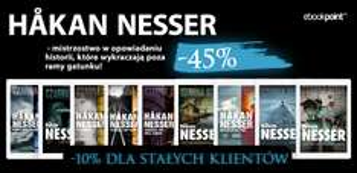 Hakan Nesser - ebooki -50% @ ebookpoint.pl