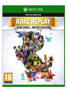 Rare Replay [Xbox One] zestaw 30 kultowych gier m.in. Viva Piniata, Conker, Banjo Kazooie, Perfect Dark i inne @ Amazon.co.uk