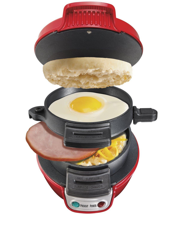 Śniadanie na szybko (Electric Breakfast Sandwich Maker) za ok. 105zł (-55%) @ Amazon.uk