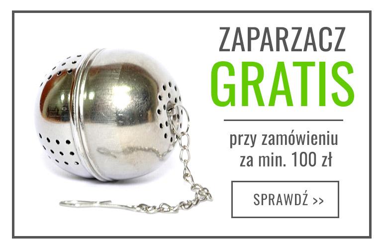 50zł na HERBATY LIŚCIASTE + Zaparzacz GRATIS i Darmowa Dostawa!