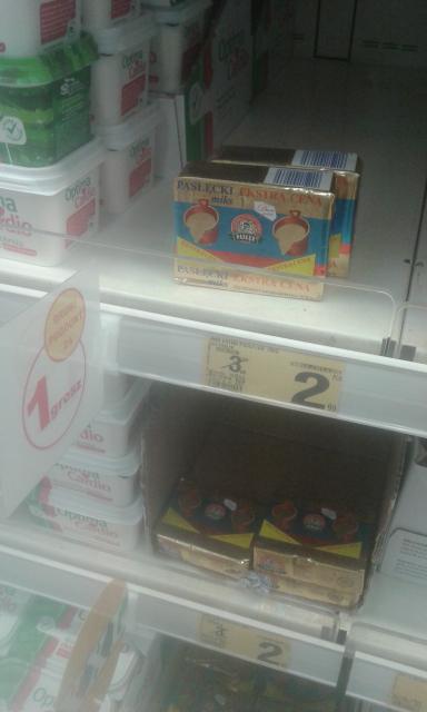 miks pasłęcki 76% 2.99 + drugi za 1 grosz @ Auchan