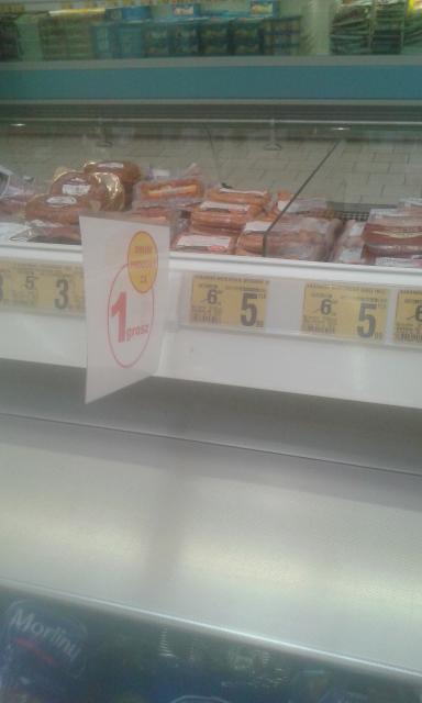 kabanosy 5.99+drugie za grosz @ Auchan