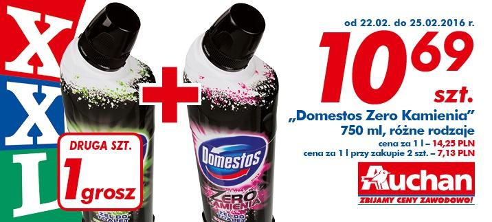 Domestos Zero Kamienia 10,69 + drugi za grosz  @Auchan