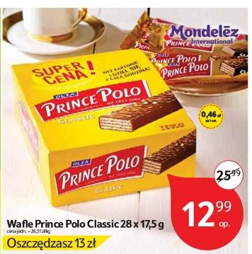 Opakowanie Prince Polo 28 sztuk za 12,99zł (taniej o połowę) @ Tesco