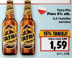 Tatra Pils za 1,59zł @ Kaufland