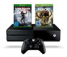 Xbox One 1TB  + Rise of the Tomb Raider + Far Cry Primal za ok. 1535zł @ Amazon.de