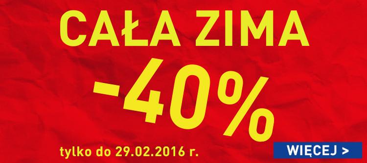 -40% na kolekcję zimową @ Intersport