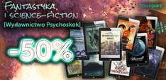 Fantastyka i sience fiction do 60% taniej @ ebookpoint.pl