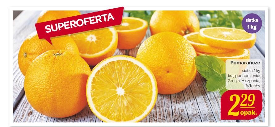 Pomarańcze za 2,29zł/kg @ Carrefour