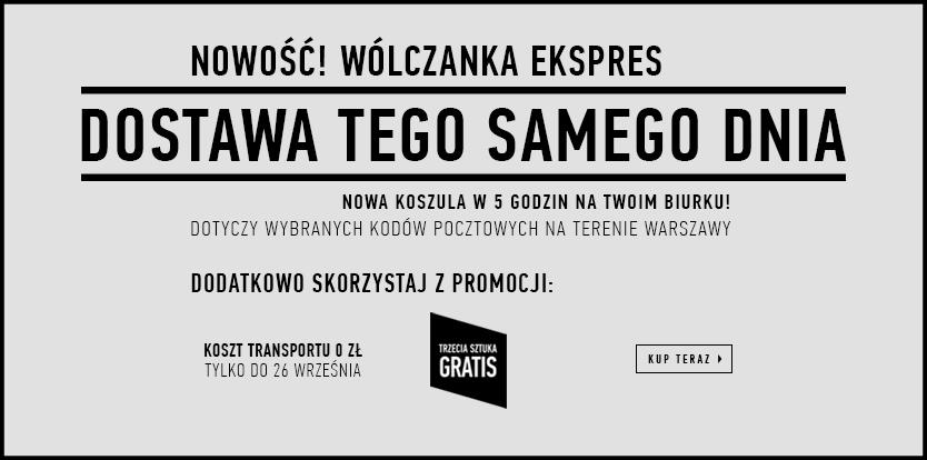 Darmowa dostawa + trzecia sztuka gratis @ Wólczanka