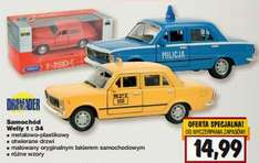 Zabawkowe auta za 14,99zł @ Kaufland