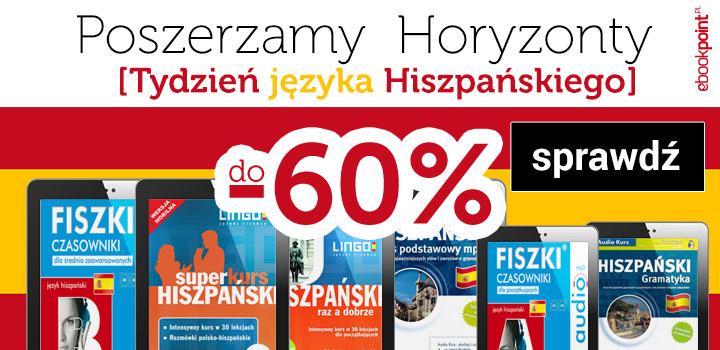 Fiszki audio od 4,40 zł i inne. Tydzień języka hiszpańskiego @ ebookpoint.pl