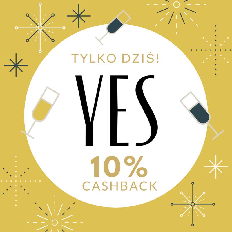 TYLKO DZIŚ! 10% Cashback w @yes z @planetplus