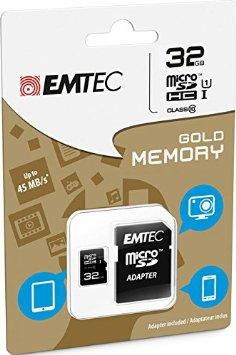 Karta pamięci EMTEC microSDHC 32 GB z adapterem SD @ Aldi