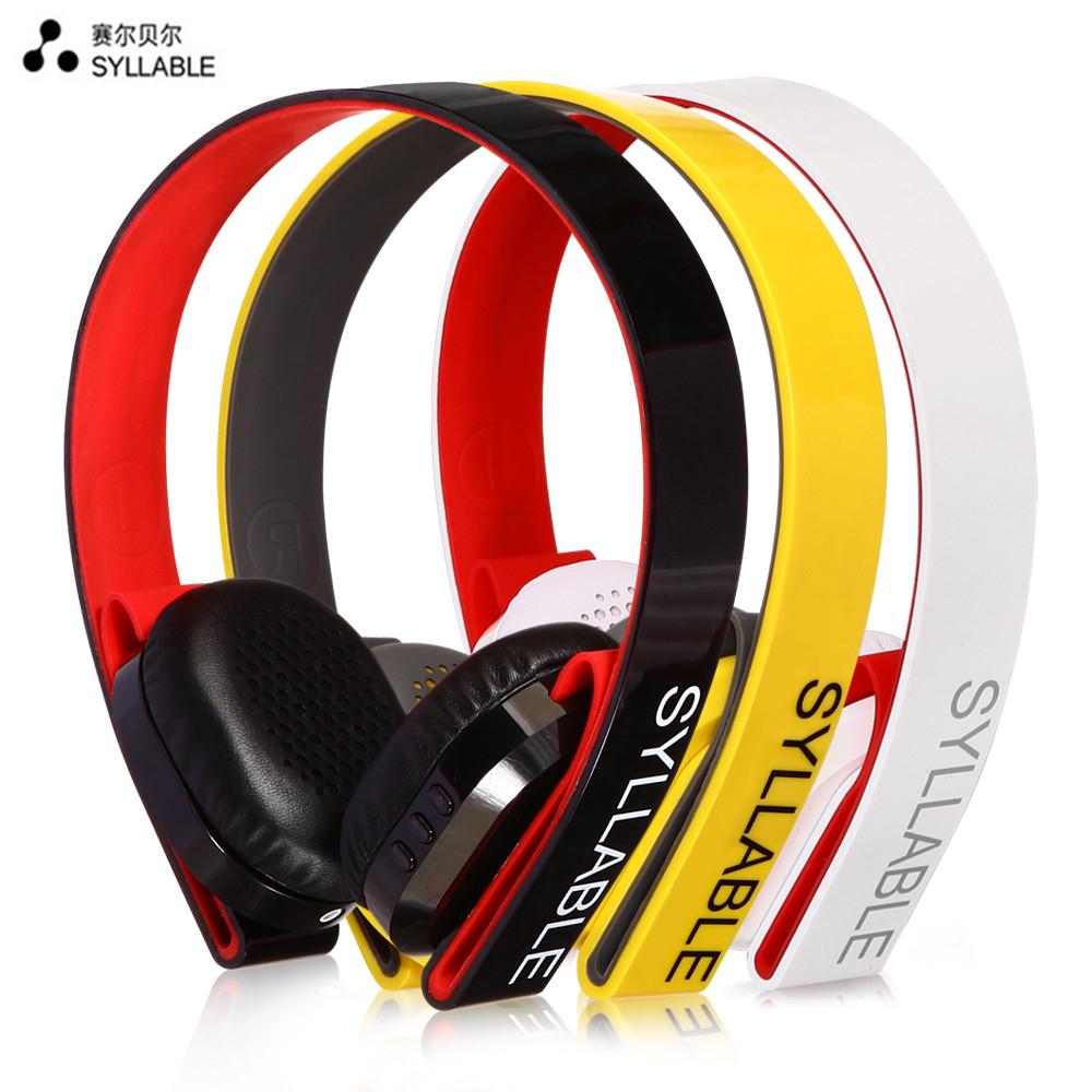 Słuchawki Syllable G600 bluetooth 4.0+mikrofon+wyciszenie otoczenia.
