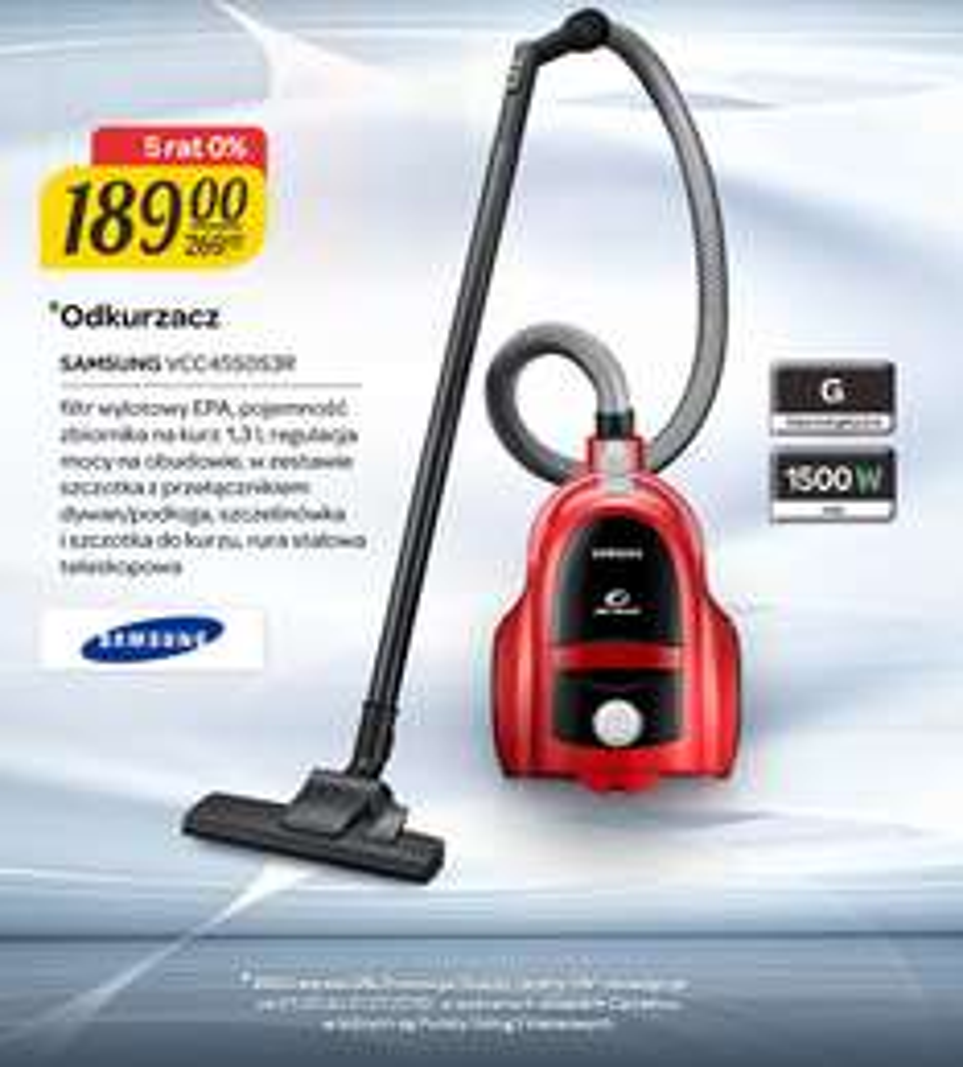 Odkurzacz Samsung za 189zł @ Carrefour