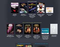 Pakiet gier Star Wars od 4zł (m.in: Star Wars: Rebellion, X-Wing Alliance i inne) @ Humble Bundle