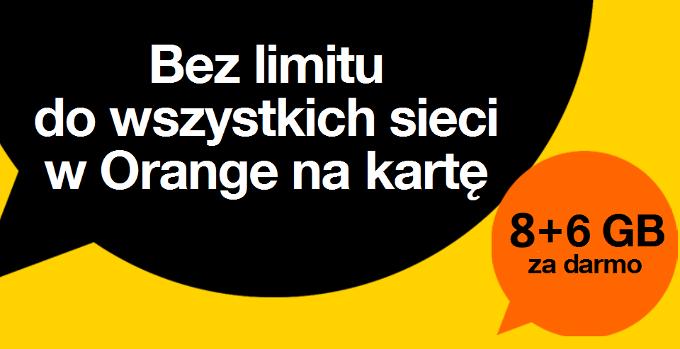 Orange Multipakiet 200 minut, 200 SMS i 200MB i jeden mniejszy/krótszy.