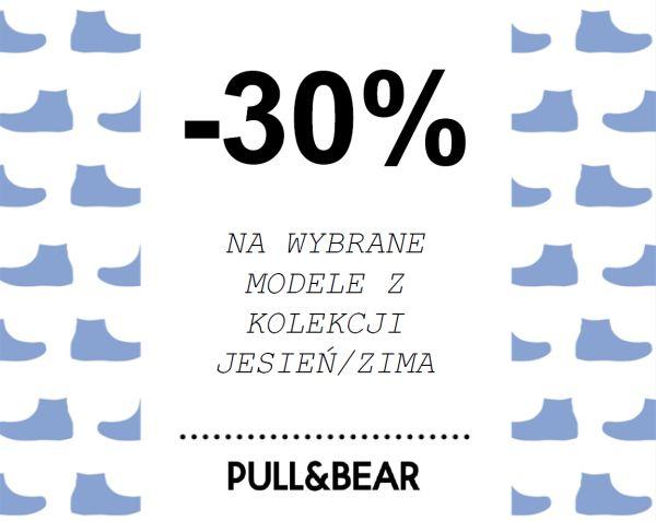 30% rabatu na wybrane modele butów męskich @ Pull&Bear