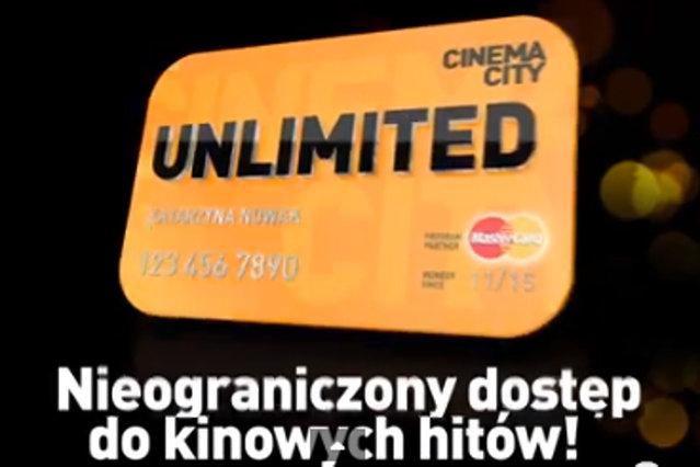 Cinema City Unlimited - nieograniczony dostęp do kinowych hitów!