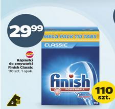 Tabletki do zmywarek Finish Classic 110szt. za 29,99zł @ Netto