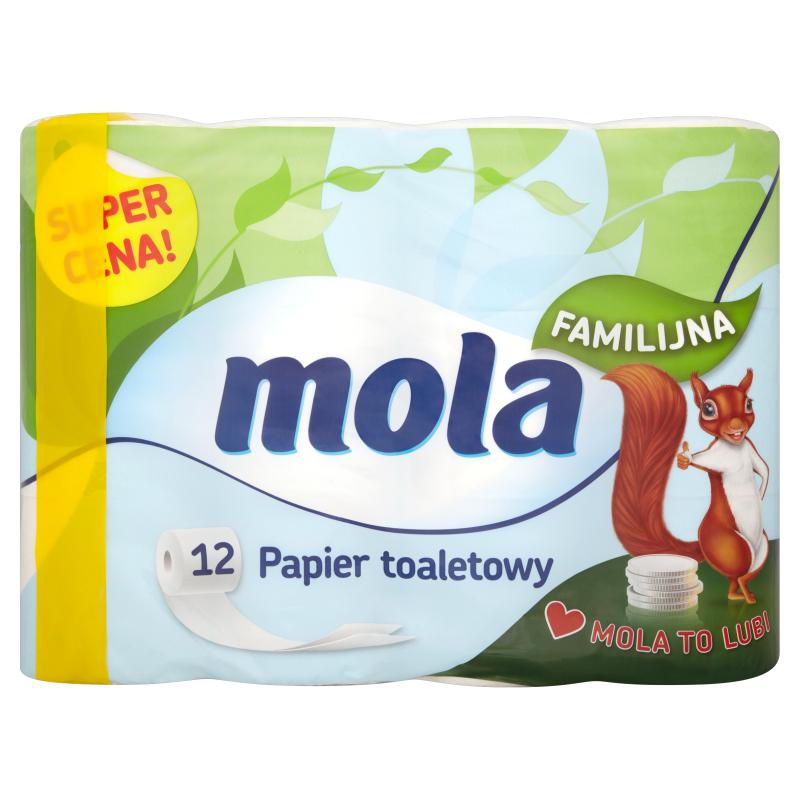 Papier toaletowy Mola Familijna 4,99 zł @Kaufland