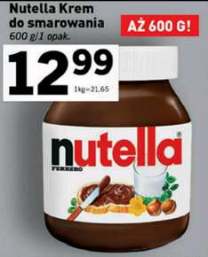 Nutella 600g @ Lidl