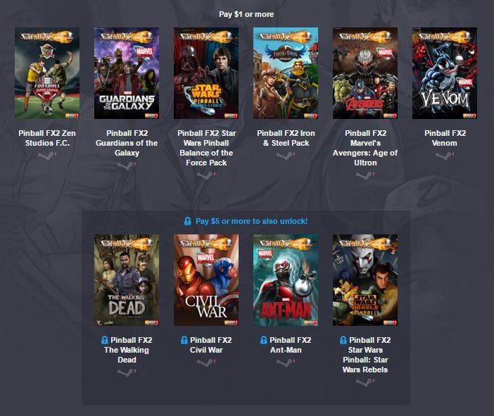 Pakiet gier od Zen Studios od 4zł @ Humble Weekly Bundle