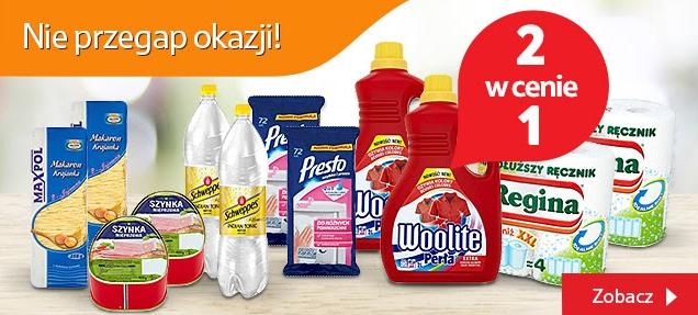 TESCO online 37 produktów 2 w cenie 1