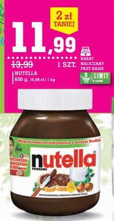 Nutella w Intermarche - znalezione taniej!