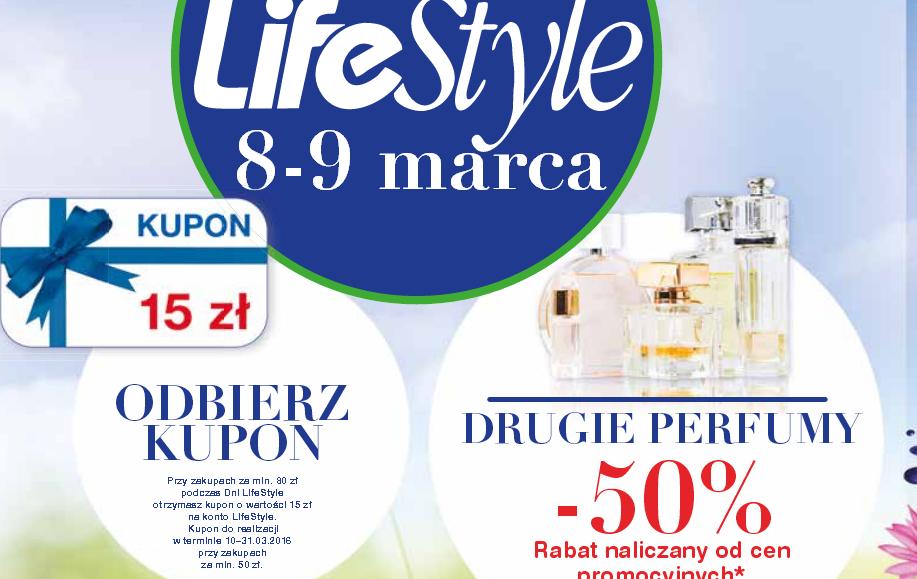 Drugie perfumy -50%, rozmaite marki (np. DUREX!) z rabatem -50% (8-9.03) @ Super-Pharm