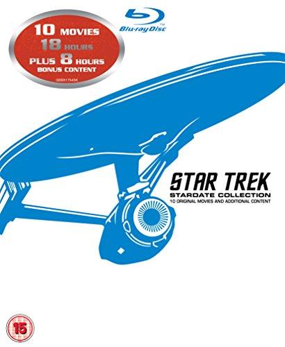 Star Trek filmy 1-10 [Blu-Ray] za 155zł @ Amazon.co.uk