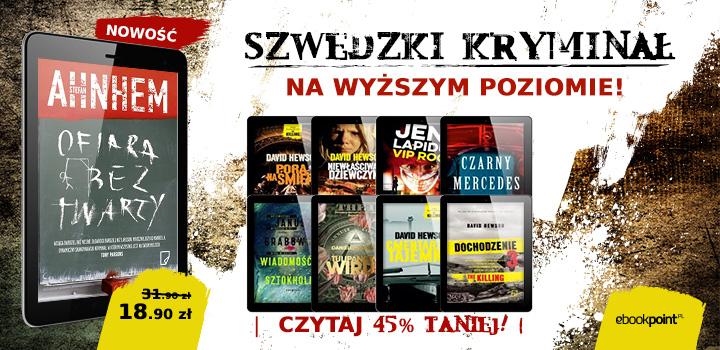 Dobry szwedzki kryminał 45% taniej @ ebookpoint.pl