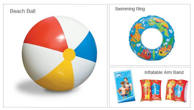 Piłka plażowa, rękawki dla dzieci lub koło ZA DARMO @ Zapals