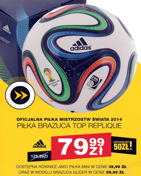 Piłka Brazuca Top Replique za 79,99 zł @ 50 Style