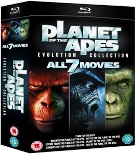 Planet of the Apes: Evolution Collection (7 filmów na Blu-Ray) ~ 84zł @ Zavvi