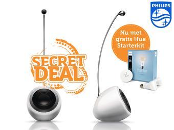 Ukryta oferta na ibood.pl - Głośniki Philips Fidelio SoundSphere + Philips Hue Lux