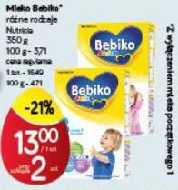 Mleko Bebiko 350g za 13zł @ POLO Market