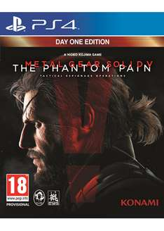 Metal Gear Solid V: The Phantom Pain - Day One Edition (PS4) za ok. 125zł @ Base