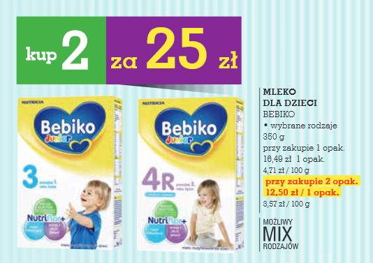 Mleko Bebiko 350g, 2 opakowania za 25zł @ Intermarche