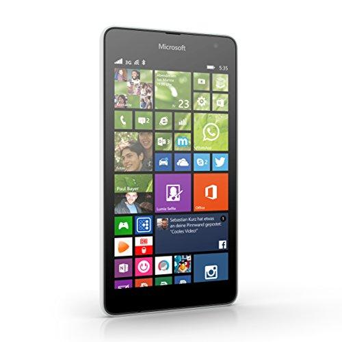 Smartfon Microsoft Lumia 535 (5', dualsim, 4x1,2GHz, 8GB pamięci, Windows Phone) za ~300zł @ Amazon.co.uk