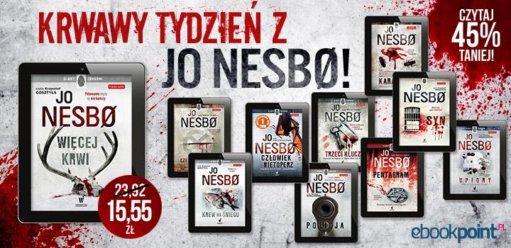 Krwawy tydzień z Jo Nesbo (rabat 45%) @ ebookpoint.pl