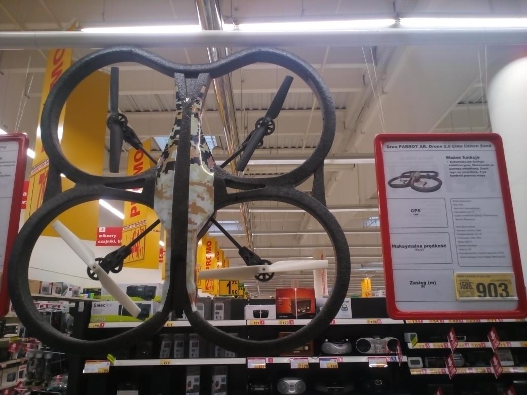 Dron Parrot 2.0 za 903,40zł @Auchan