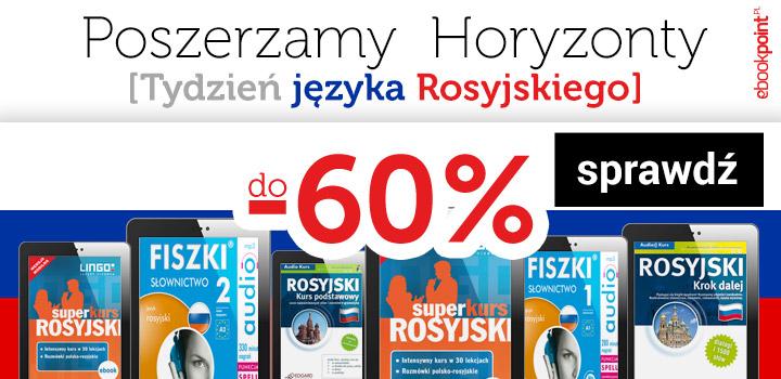 Fiszki audio od 4,40 zł i inne. Tydzień języka rosyjskiego @ ebookpoint.pl