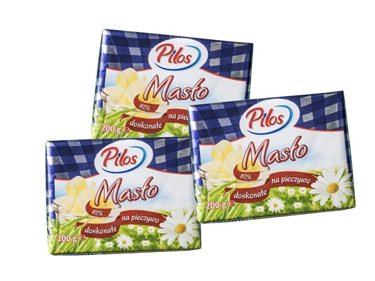 [PONOWNIE] Masło Extra Pilos 3kostki za 8zł @ Lidl