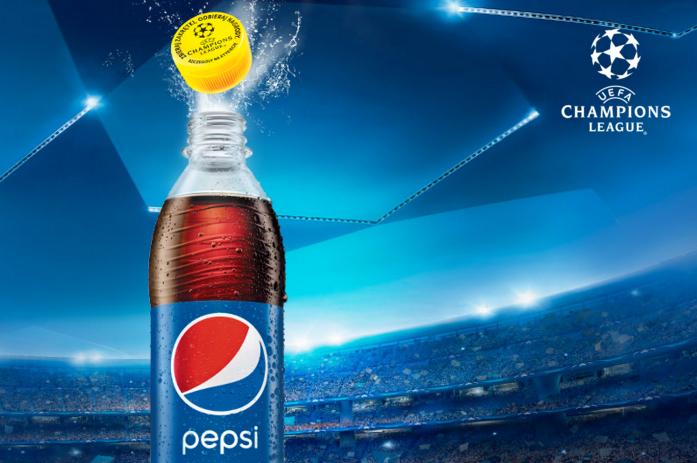 Torba sportowa, szklanki lub butelka 0,5l za zebrane nakrętki @ Pepsi