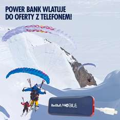 Red Bull Mobile 3 GB CO MIESIĄC I POWER BANK WLATUJĄ ZA FREE!